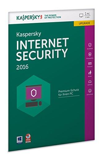 Kaspersky Internet Security 2016 Upgrade - 1 PC / 1 Jahr (Frustfreie Verpackung)