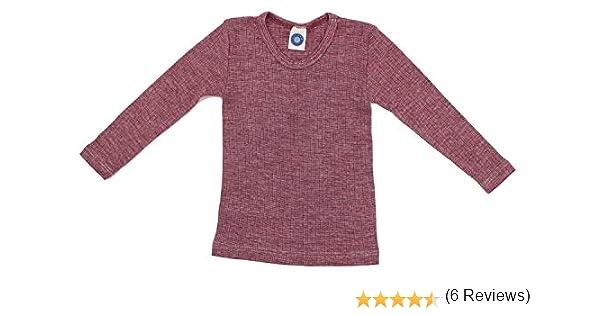 Cosilana - Camiseta para niño de Wollbody®, de calidad especial ...