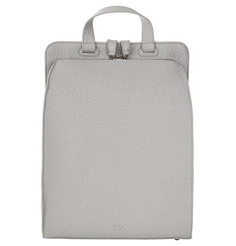 VOi Leather Design, Borsa a zainetto donna Platino