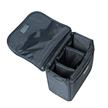 """G-raphy Camera Insert Inner Bag DSLR SLR Camera Padded Foldable Partition Case Bag Protective Bag Cover Waterproof Shockproof Travel for Sony Canon Nikon Olympus Pentax or Flash Light 9""""x7""""x4"""" or 12""""x8""""x5"""" (S: 9""""x7""""x4"""")"""