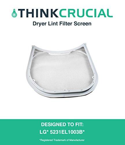 lg tromm dryer lint filter - 2