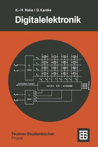 Digitalelektronik: Eine Einführung für Physiker (Teubner Studienbücher Physik) (German Edition)