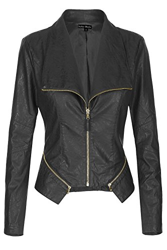 Fitted Leather Jacket - 5