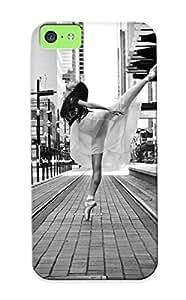 Honeyhoney High Quality Shock Absorbing Case For Iphone 6 (4.5)-street Girl Ballerina Dance Mood