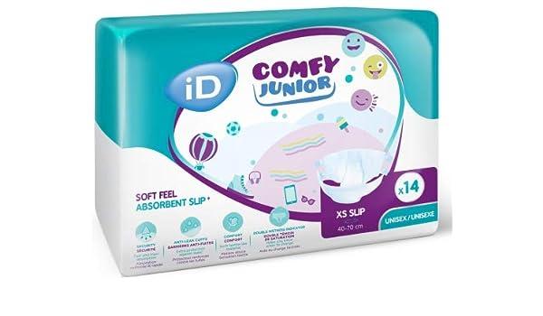Id Comfy Junior XS 13501459 - Pañal para bebé (40-70 cm): Amazon.es: Salud y cuidado personal