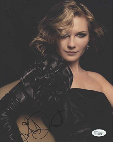 Kirsten Dunst Sultry Signed 8x10 Photo Certified Authentic JSA COA AFTAL