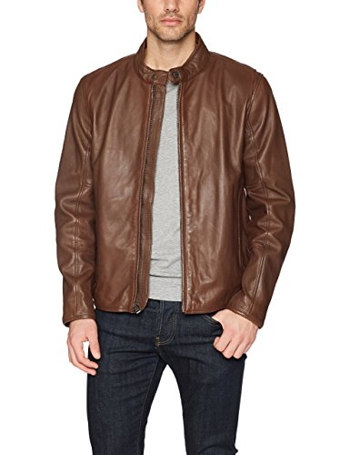 - Marc New York by Andrew Marc Men's Horace, Mahogany, Double Extra Large