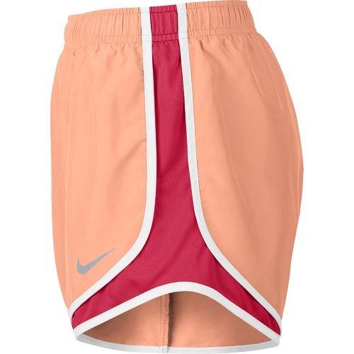 Damen Nike Dry Tempo Running Short Helle Melone / Weiß