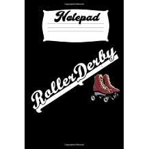 Notepad Roller Derby: Homework Book Notepad Composition and Journal Diary