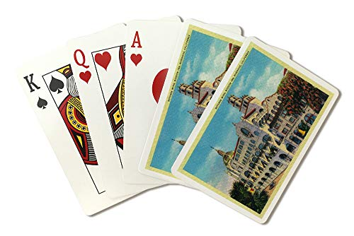 Riverside, California - Mission Inn, Rotunda Wing (Playing Card Deck - 52 Card Poker Size with Jokers) ()