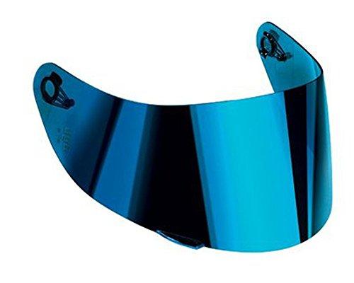 AGV K-3 SV & K-5 Motorcycle Helmet Shield Visor Windscreen Clear Tint ALL SIZES (XS,S,MS, Iridium Blue - GT2-1)