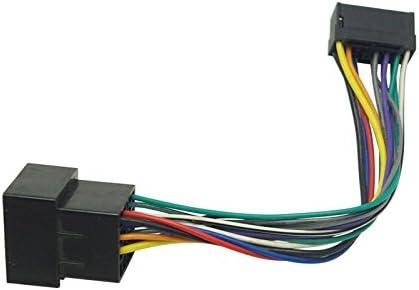 Sound-way Cable adaptador conector ISO compatible con radio Sony 16 pins