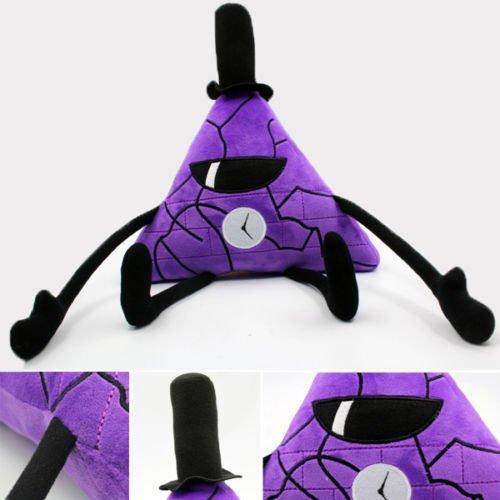 Anime Gravity Falls Purple Bill Cipher Boss Stuff Plush Toys Dolls Kawaii Gift