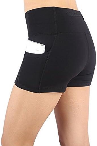 FUTULY Womens Perfomance Running Pants Sports Shorts Casual Workout Yoga Shorts