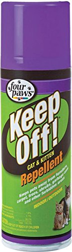 Four Paws Keep Off 6oz Indoor and Outdoor Cat and Kitten Repellent