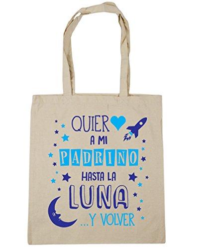38cm a Bolsa Asas volver de Con Bolso 10 Padrino para y HippoWarehouse Luna x Azul mi hasta litros Playa la gimnasio Compra ¡Quiero capacidad 42cm Natural qO8nawF51