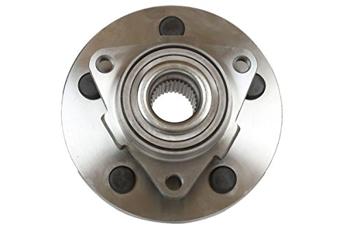 ECCPP Front Wheel Hub Bearing Assembly 5 Lugs for 2002-2008 Dodge Compatible with 515072