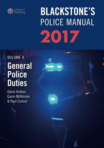 Blackstone's Police Manual Volume 4 (Blackstone's Police Manuals)