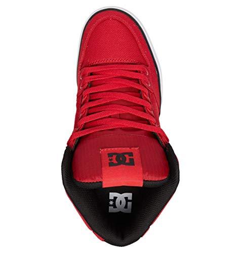 Wc Se Red For Zapatillas Dc top Tx Para Hombre Skateboard Pure Men Shoes high De gxIIwqEH6