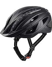 Alpina HAGA LED-fietshelm, uniseks, zwart, 58-63 cm