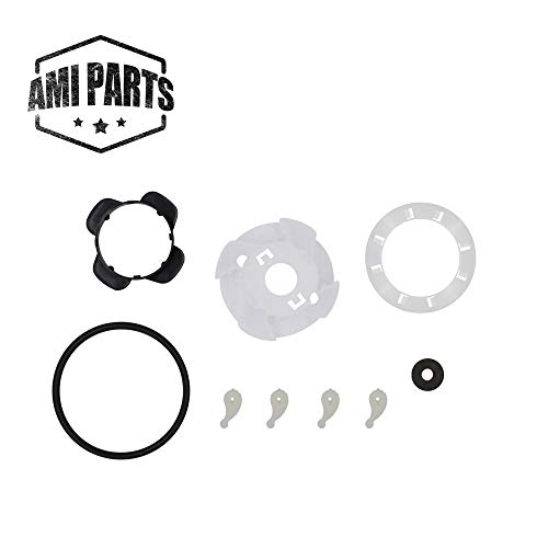 Cam Repair Kit - AMI PARTS 285811 Washer Medium Cam Agitator Repair Kit Exact Fit Whirlpool AP3138838 PS334650