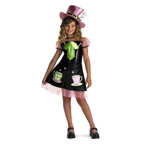 Mad Hatter Costume - Medium (7-8) (Alice In Wonderland Childrens Costumes)