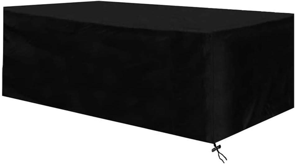 Osarke Funda para Mesa Jardin Fundas Muebles Exterior Impermeable 420D Oxford Muebles de Jardin Cubierta Protectora Anti-UV 213 X 132 X 74cm