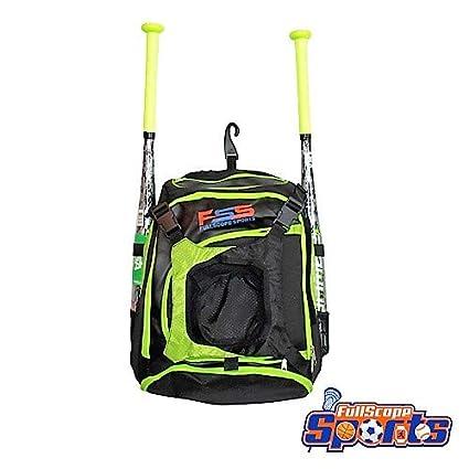 """9cea7c9db FullScope Sports """"Elite Youth Baseball Bag - Backpack for Baseball,  T-Ball"""
