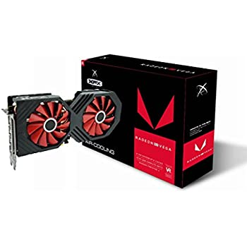 XFX Radeon Rx Vega 56 8GB HBM2 PCI Express 3 0 Graphics Card Graphic Cards  RX-VEGALDFF6