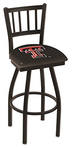 Texas Tech Red Raiders HBS Jail Back High Swivel Bar Stool Seat Chair (30