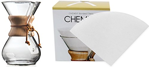 chemex-8-cup-classic-glass-coffee-maker-glass-cover-fc-100-bonded-white-circular-coffee-filters-100-