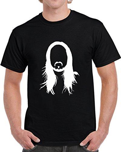 Tshirtbandit Steve Aoki House DJ Trance Club Music Black T Shirt XL Black
