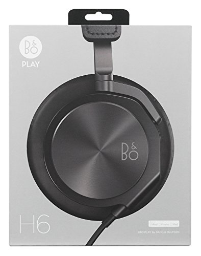 b o play by bang olufsen beoplay h6 black import it all. Black Bedroom Furniture Sets. Home Design Ideas