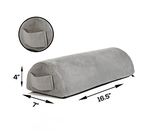 Memory Foam Pillow Supports Back, Head, Leg Knee Pain Relief, Bed, Chair seat Foot Rest Under Desk Cushion Sciatica Pregnancy Hip & Joint surgery Better Circulation Gentle Comfort, Alleviates Pressure (Best Pillow For Numb Arms)