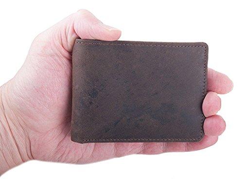 Braun Anders motiv2 Portafoglio Small Germania Leather Design Portafoglio YUSdCwq