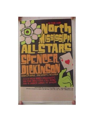 The North Mississippi allstars Poster All Stars