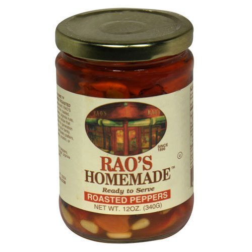 Raos Roasted Pepper with Raisins and Pine Nuts, 12 Ounce -- 12 per case. by Raos Specialty Food