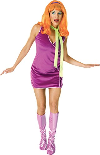Morris Costumes Women's Daphne Costume, Standard Purple
