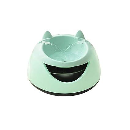Dispensador Inteligente de Agua para Mascotas de 1.5 litros, depósito de Agua de Fuente automática