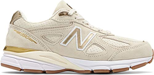 New Balance Men's 990v4 Running Shoe Angora/White 13 D US