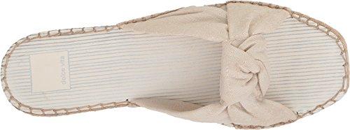 Dolce Vita Kvinners Benicia Lysbilde Sandal Off-white Linen