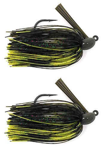 Reaction Tackle Swim Jigs 3/8 oz Candy Craw