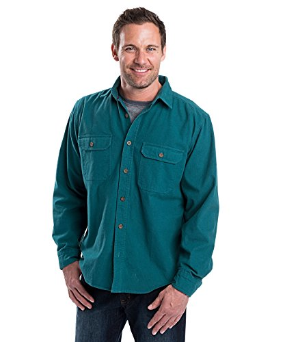 woolrich-mens-expedition-chamois-shirt-mineral-blue-large