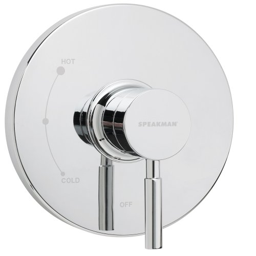 (Speakman CPT-1000-P Neo Pressure Balance Shower Valve Trim, Polished Chrome (Valve Not Included))