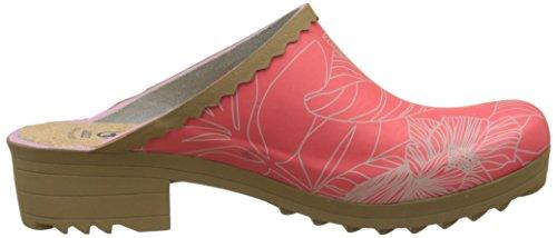 Flowerlin Victorine Aigle Rasberry Sabot Multicolore 001 Femme Mules Print Hw6xqz