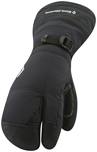 Black Diamond Soloist Finger Cold Weather Gloves, Black, Small