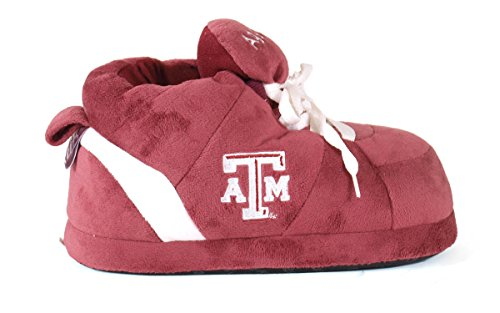 amp;m and A Happy Slippers Womens Texas NCAA OFFICIALLY Men's Feet Aggies College LICENSED Sneaker 66EPq7WwB