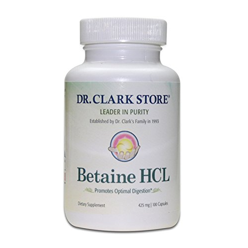 Clark Betaine Supplement 425mg capsules product image