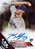#7: 2016 Topps Chrome #RA-RS Ross Stripling Certified Autograph Baseball Rookie Card