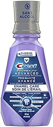 Crest Pro-Health Advanced Anticavity Flouride Mouthwash, Strengthens Enamel, Clean Mint, 1L